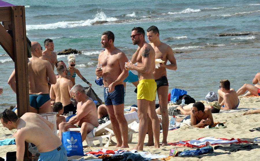 Секс на тель авивском пляже